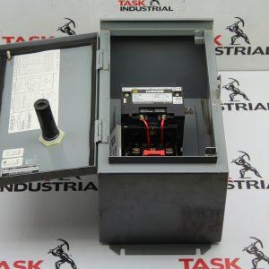Square D Company Type 12 Enclosure, Class 8536, SDA 1 Series A, NEMA SIZE 2 Starter