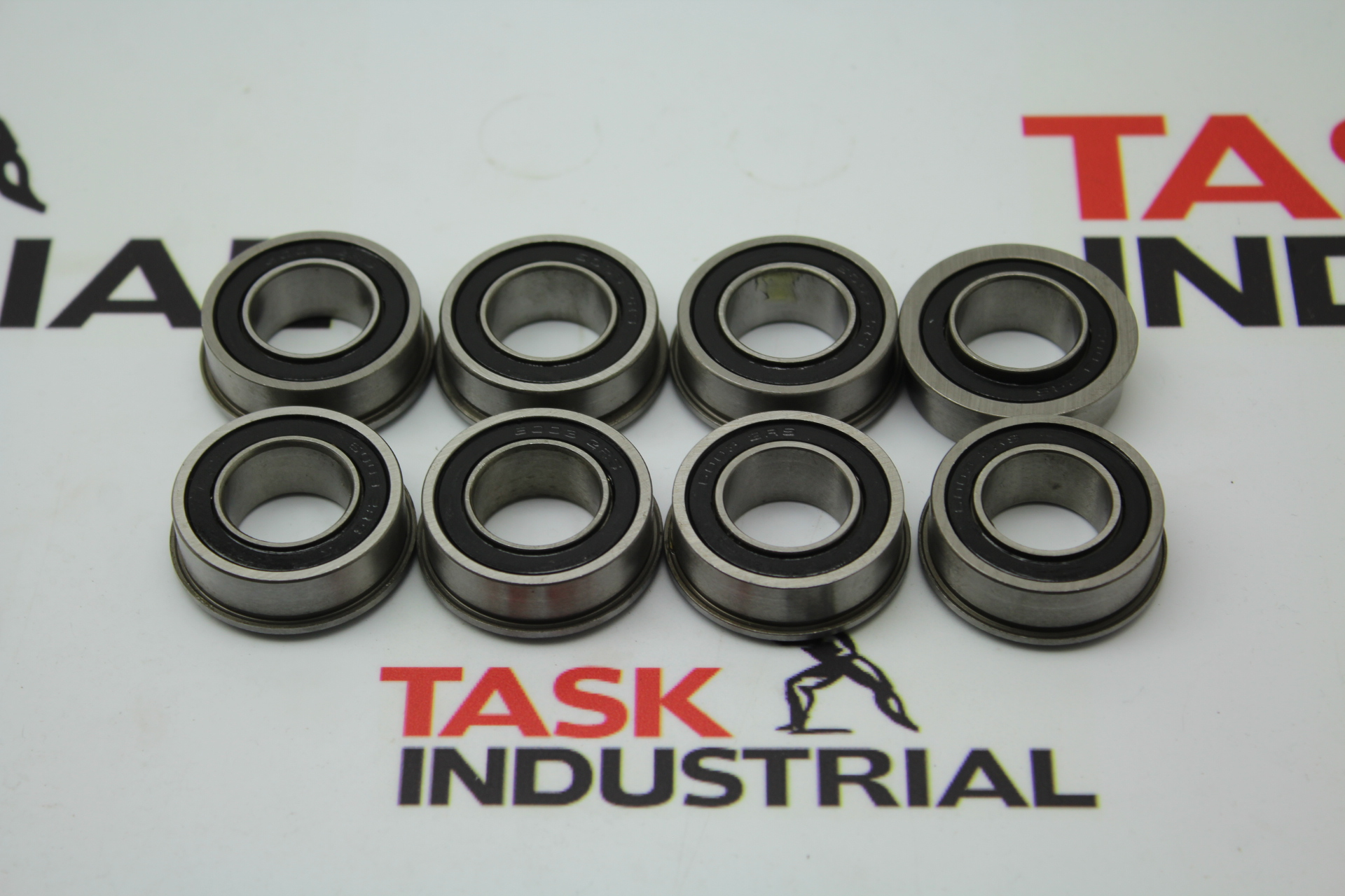 "Xike 3/4"" ID x 1-3/8"" OD x 1/2"" Total Height Bearings 8pk"