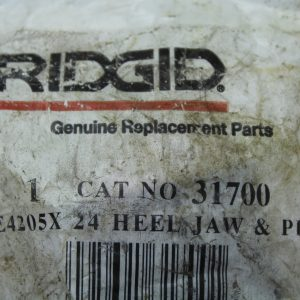 Ridgid 1 CAT NO 31700 E4205X 24 HEEL JAW & PIN