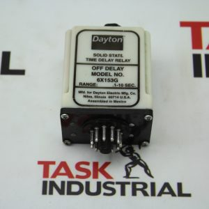 Dayton Solid State Time Delay Relay 6X153G