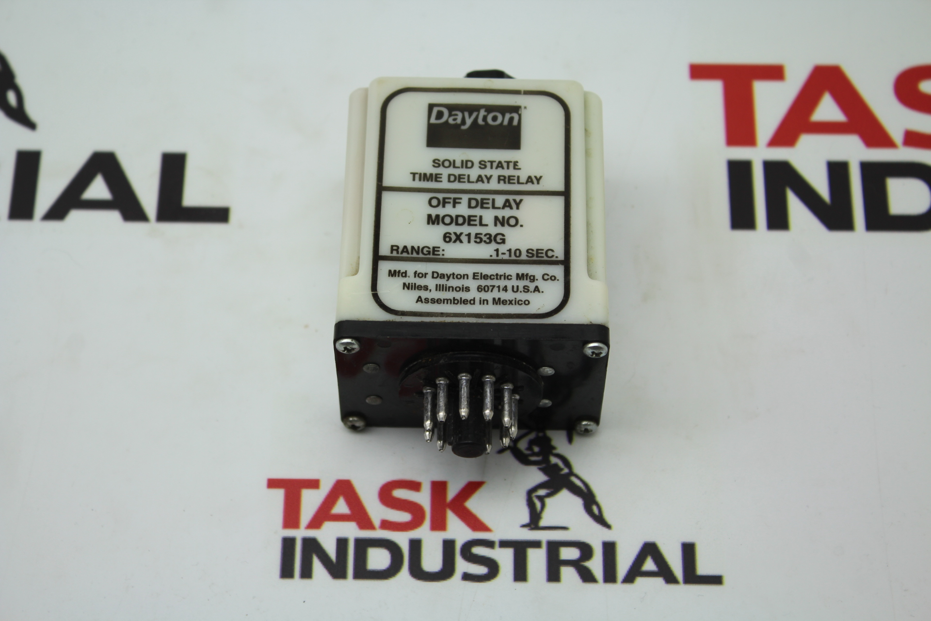 Dayton Solid State Time Delay Relay 6x153g On Off