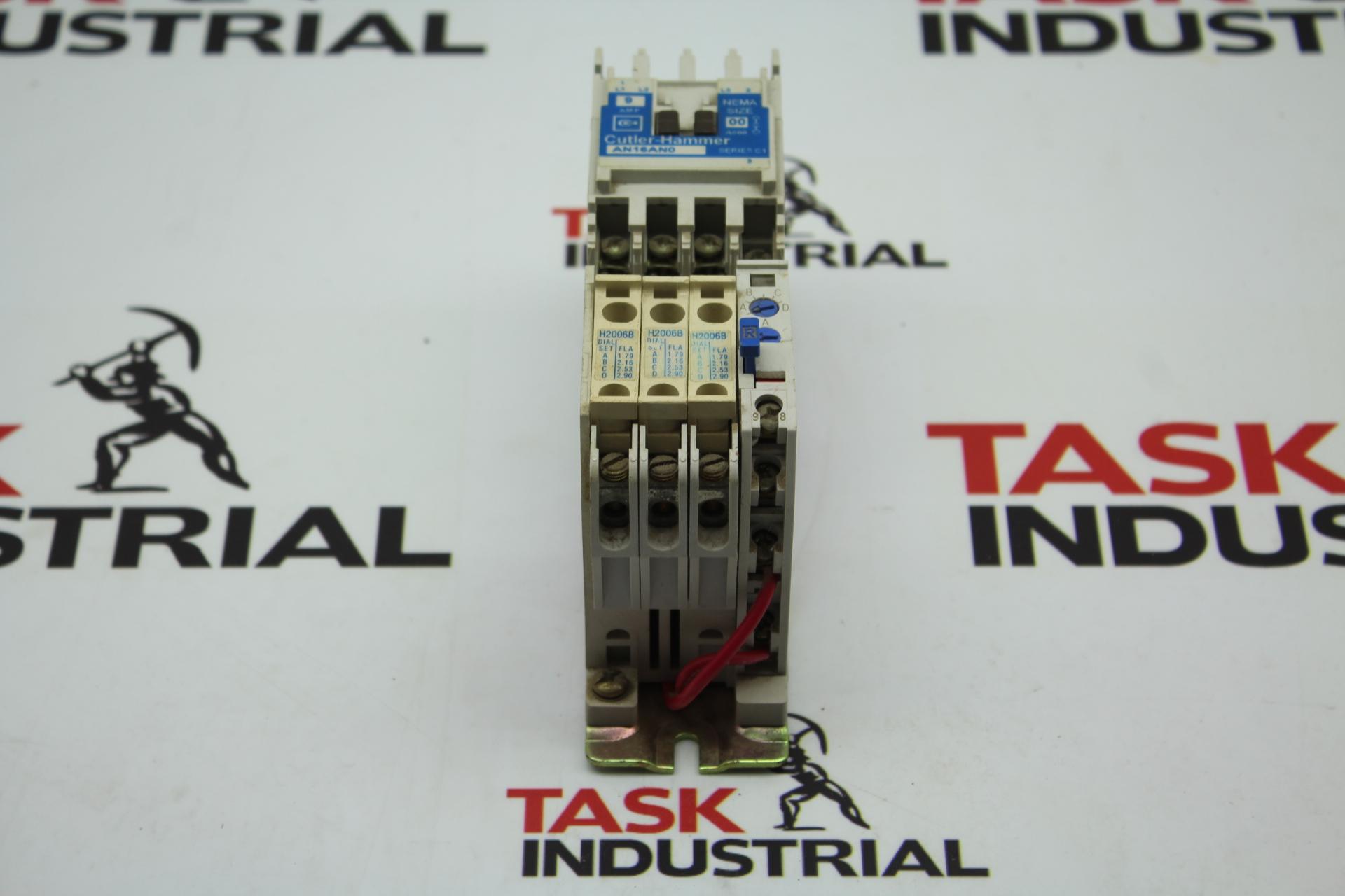 Cutler-Hammer AN16AN0 NEMA Size 00 Starter 9 AMP