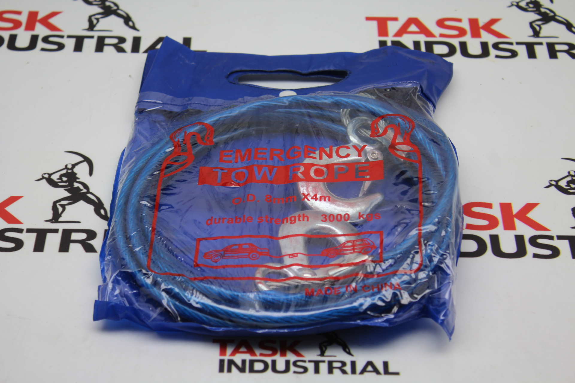 EMERGENCY TOW ROPE O.D. 8mm X4m