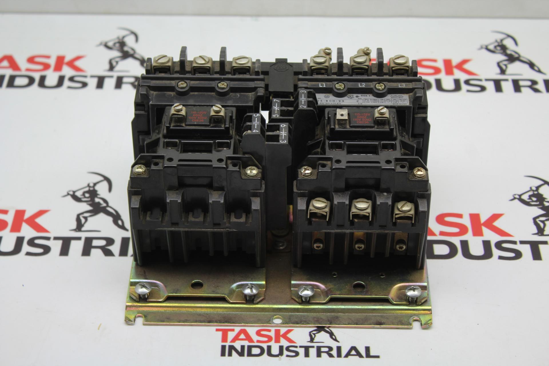 Allen-Bradley 505-B0D-23 Series C Reversing Electric Motor Starter