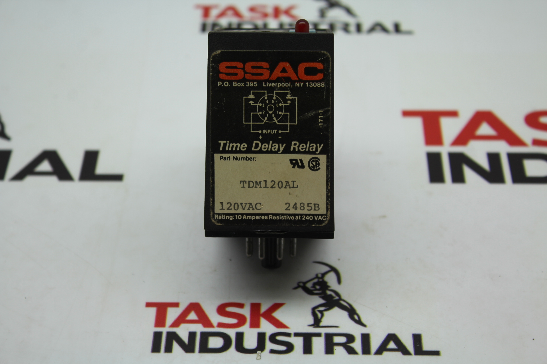 SSAC Time Delay Relay TDM120AL