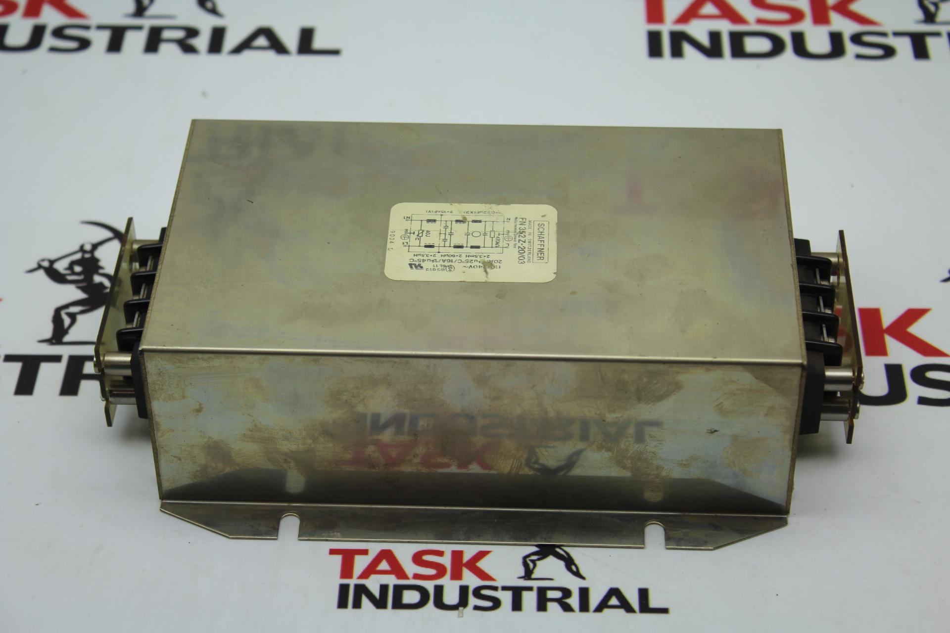 Schaffner FN 352Z-20/03 Power Line Filter Surge Suppressor