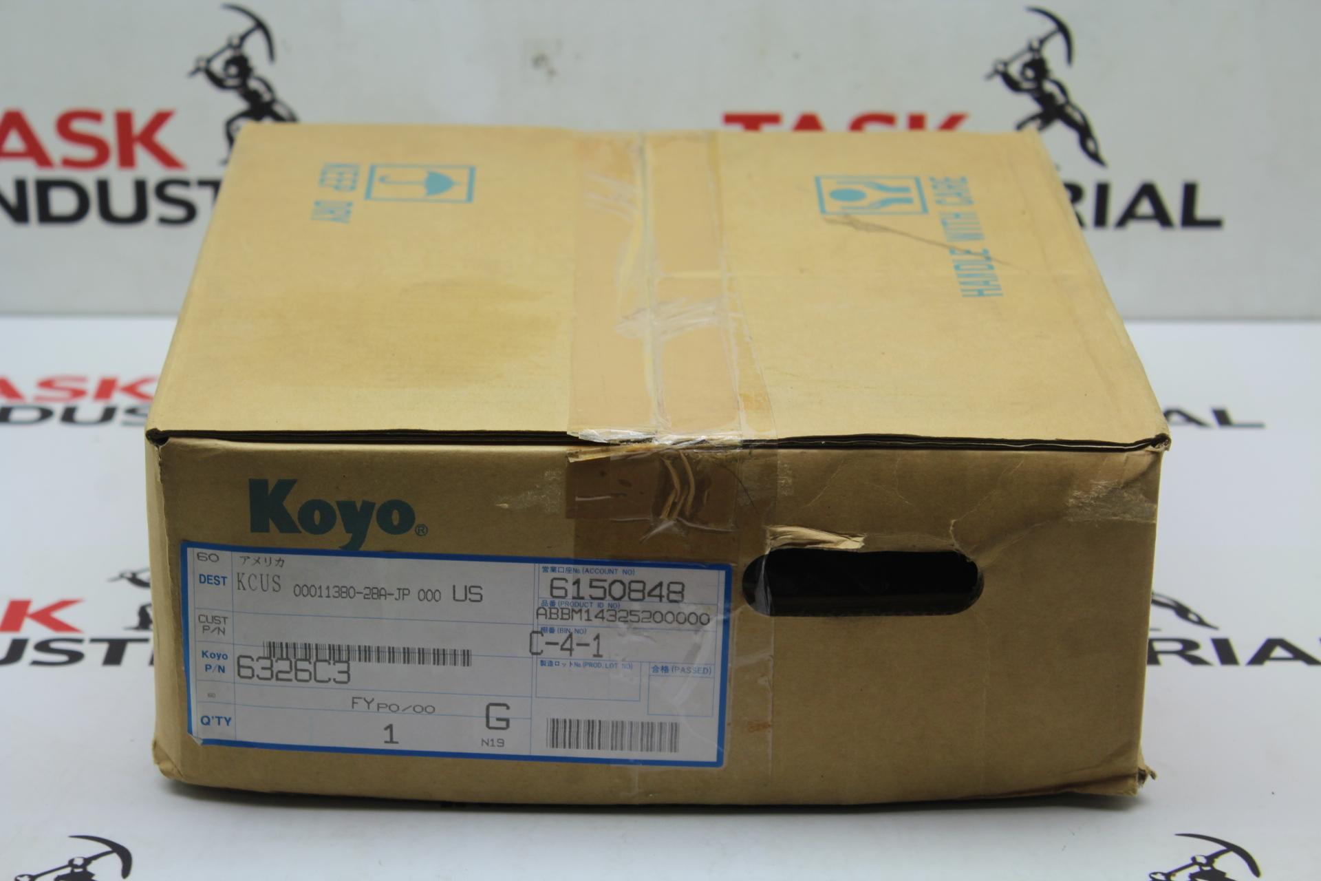 Koyo 6326C3 KCUS 00011380-28A-JP 000