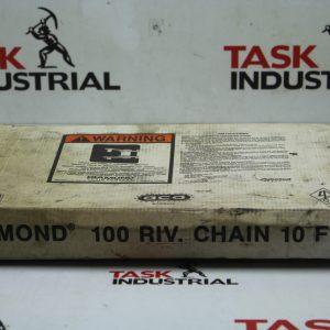 Diamond 100 RIV Chain 10FT