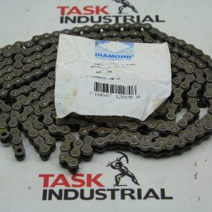 Diamond Roller Chain #35 Riveted 10'/3.06m