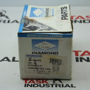 Diamond No. 40 Spring Clip Connecting Link C-4466CL-08-P