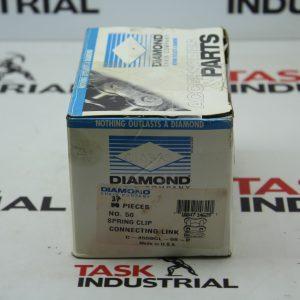 Diamond No. 50 Spring Clip Connecting Link C-4550CL-08-P