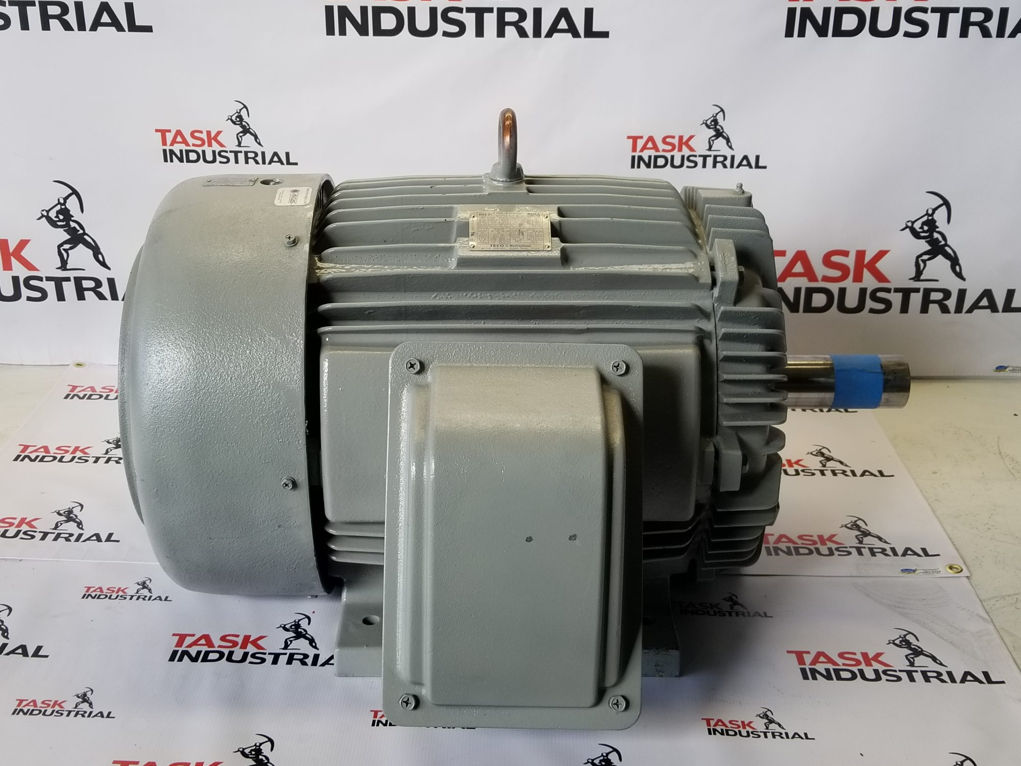 TECO MAX-E1 Electric Motor 40HP, 1180RPM, 364T FRAME, TYPE AEHH-8N, CAT NO. EP0406