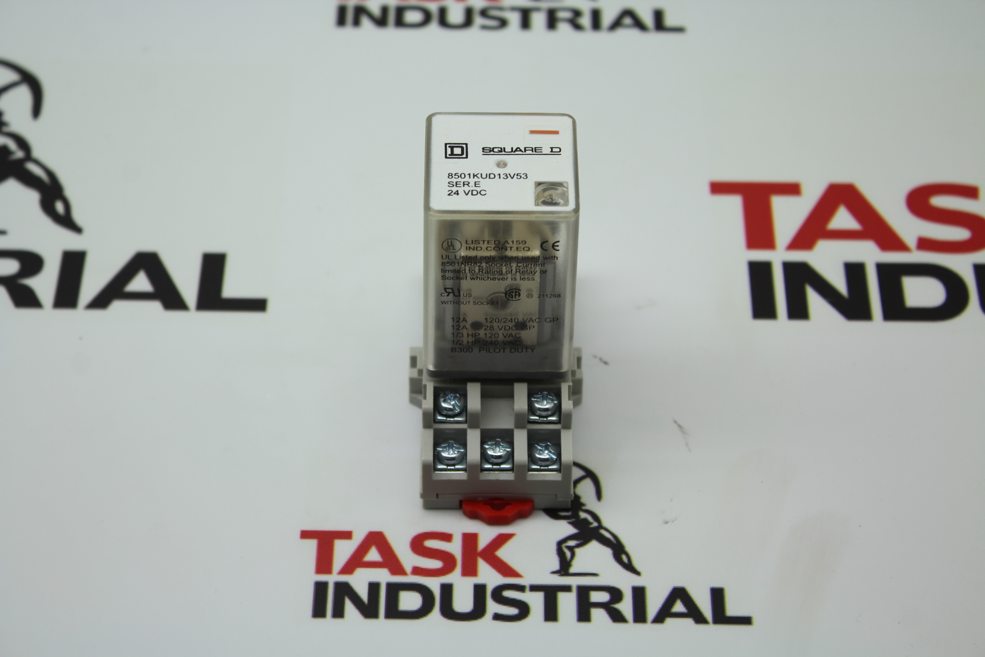 Square D 8501KUD13V53 Relay w/base