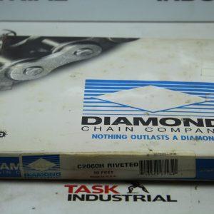 Diamond C2060H Riveted 10FT Roller Chain