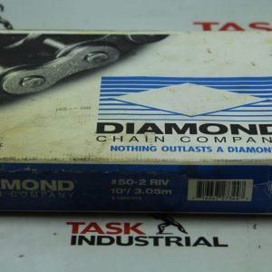 Diamond #50-2 Riv 10FT/3.05m Roller Chain