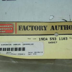 Factory Authorized Parts 593 1103 Gasket 19ea
