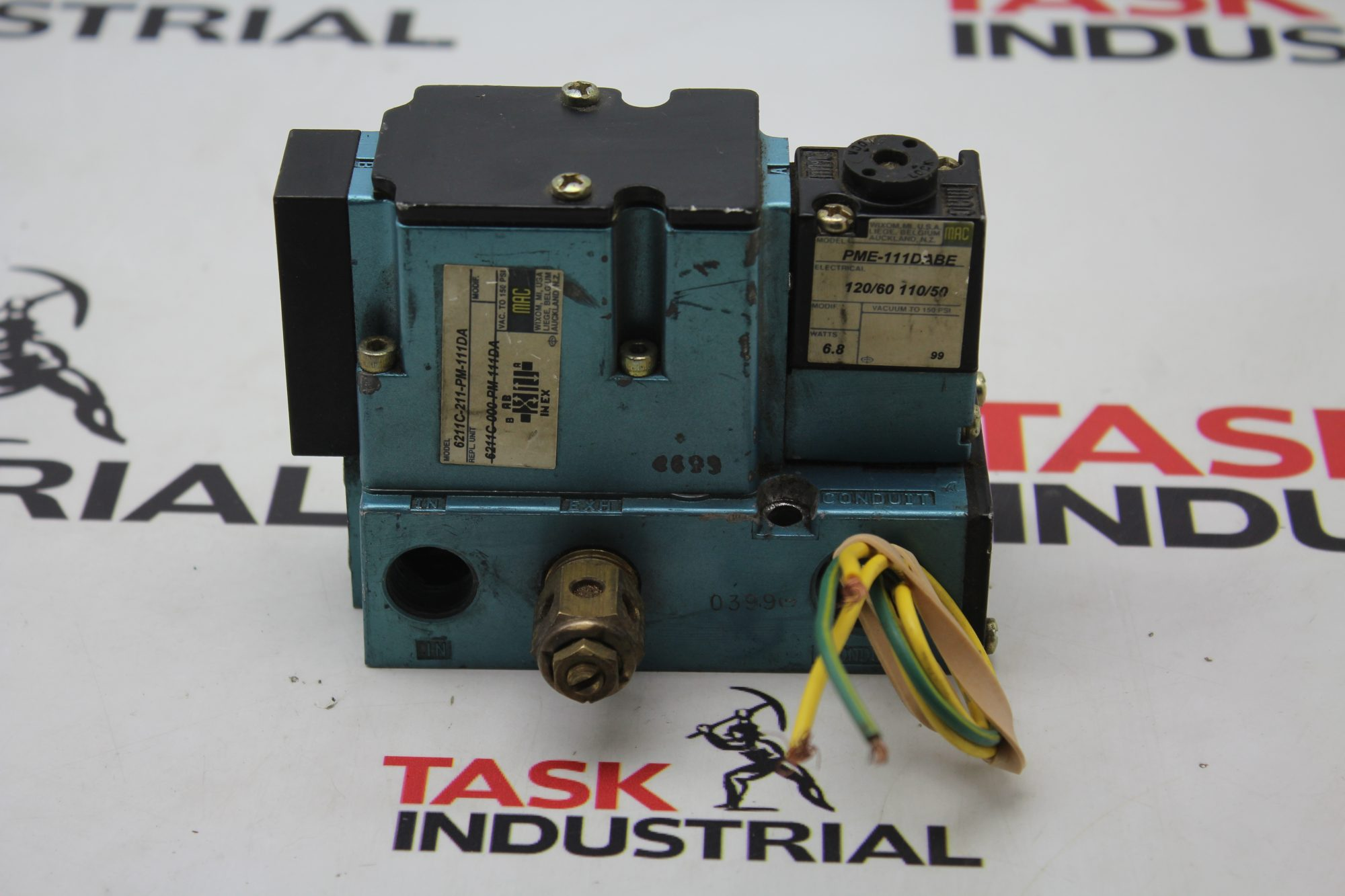 MAC Valve Model PME-11DABE 6200C-211