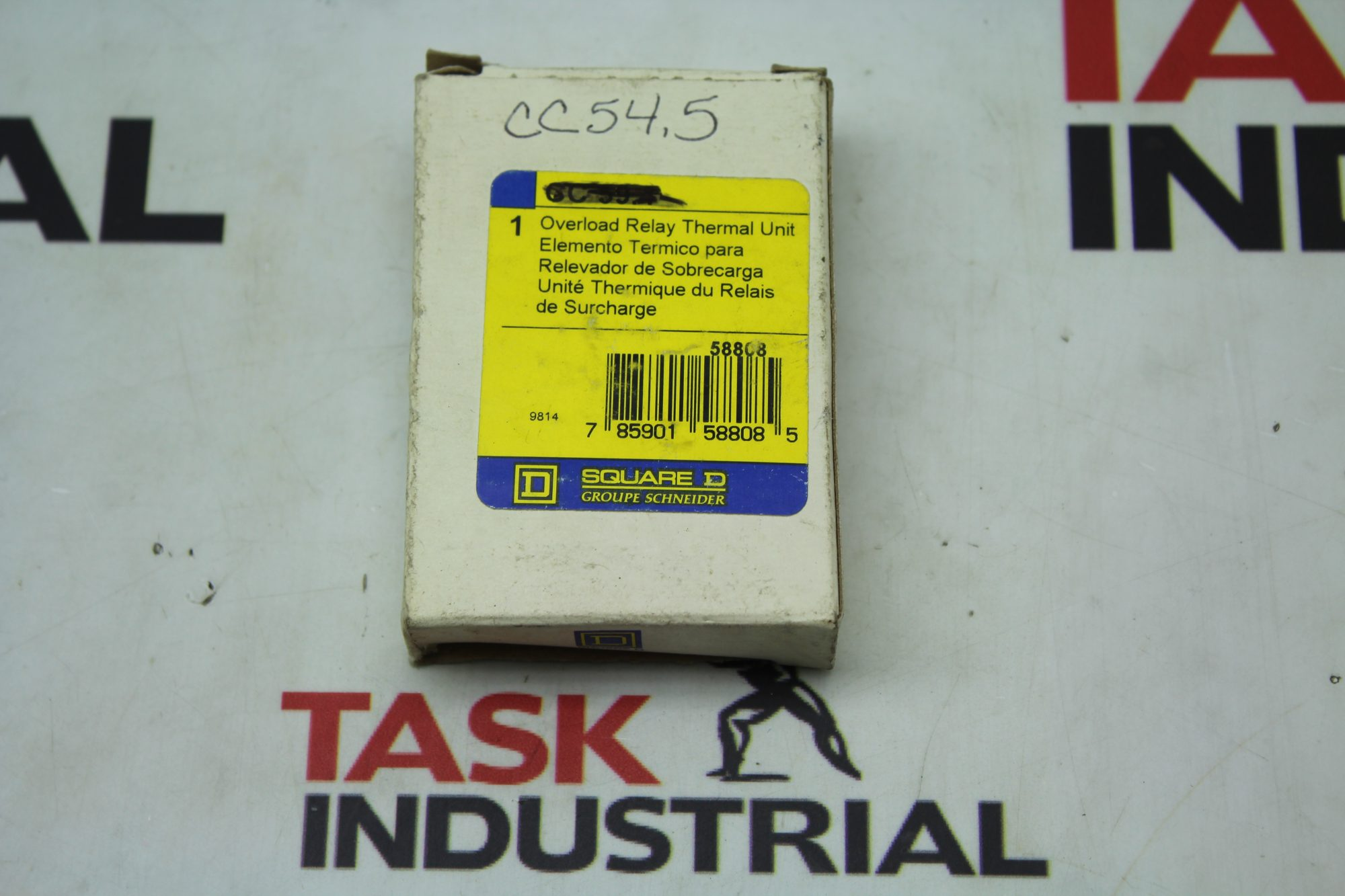 Square D Overload Relay Thermal Unit 58808