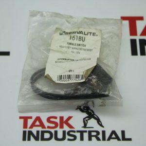 Servalite 161BU Toggle Switch w/Protective Boot