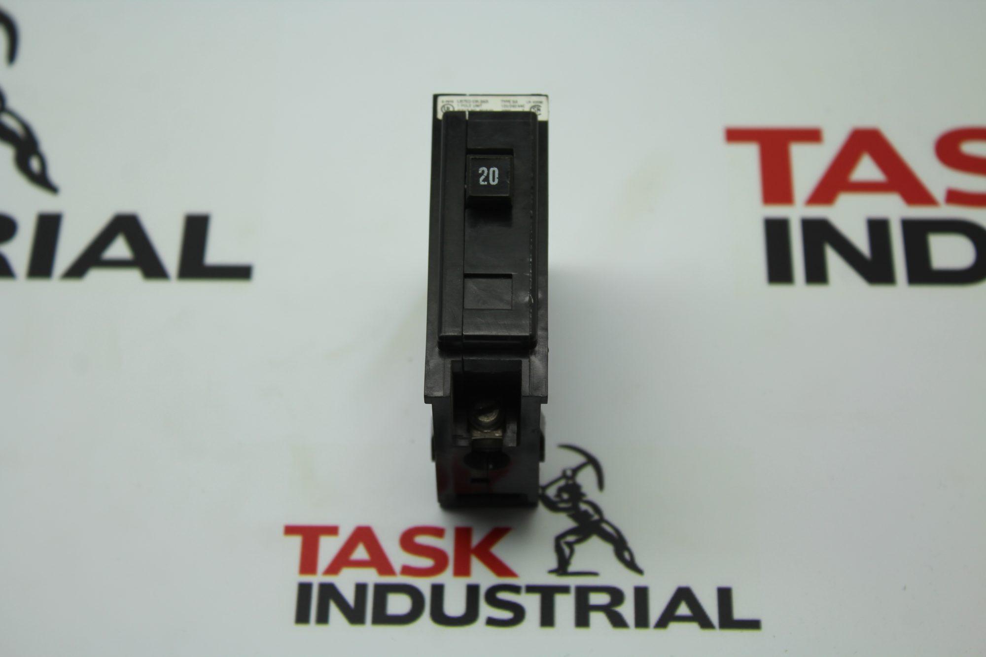 Cutler-Hammer Circuit Breaker M1640 20Amp, 1 Pole