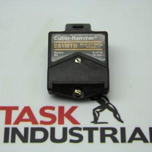 Cutler-Hammer E51MTB Series B2 Timer Module On/Off Delay