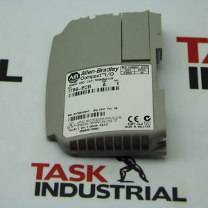 Allen-Bradley Compact I/O Right End Cap/Terminator CAT NO 1769-ECR Series A Rev 1
