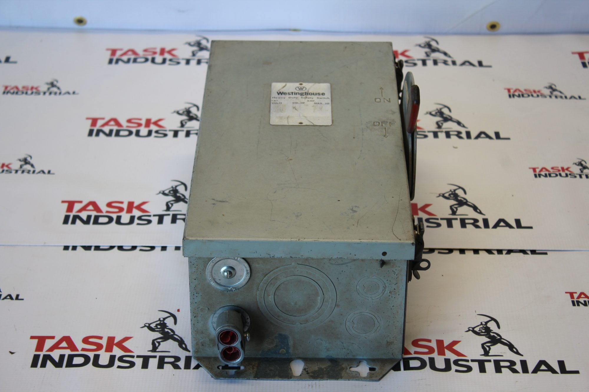 Westinghouse Heavy Duty Safety Switch CAT NO. RHFN361 30Amp