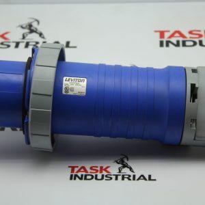 Leviton 4100P9W 100A Plug, 3PH, 250VAC