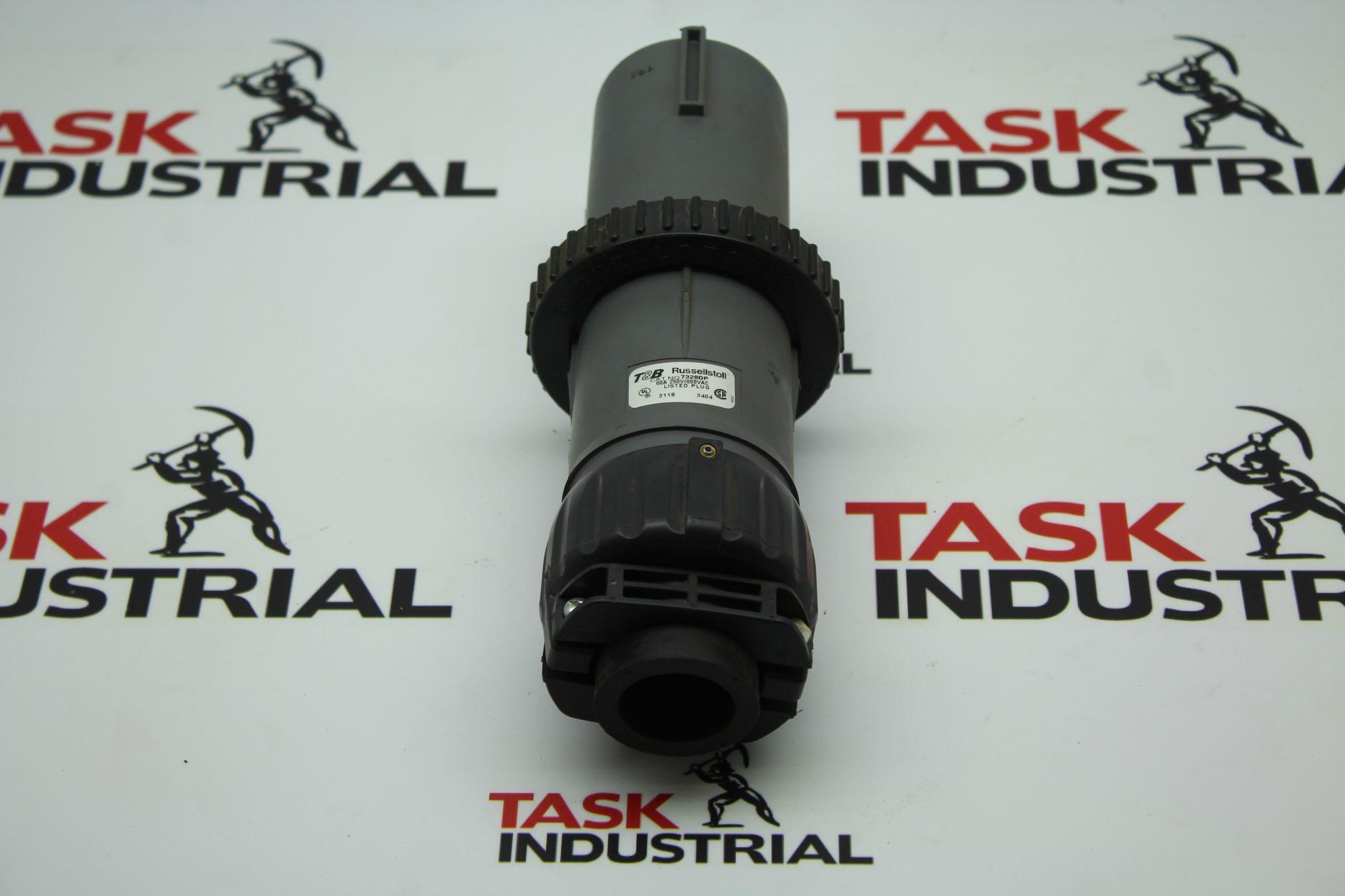 T&B Russellstoll CAT NO. 7328DP 60A Plug