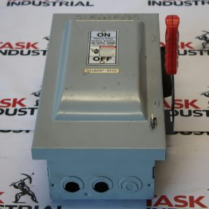 Siemens Fusible Heavy Duty Safety Switch Cat No. HF361 30 AMPS, NEMA Type 1