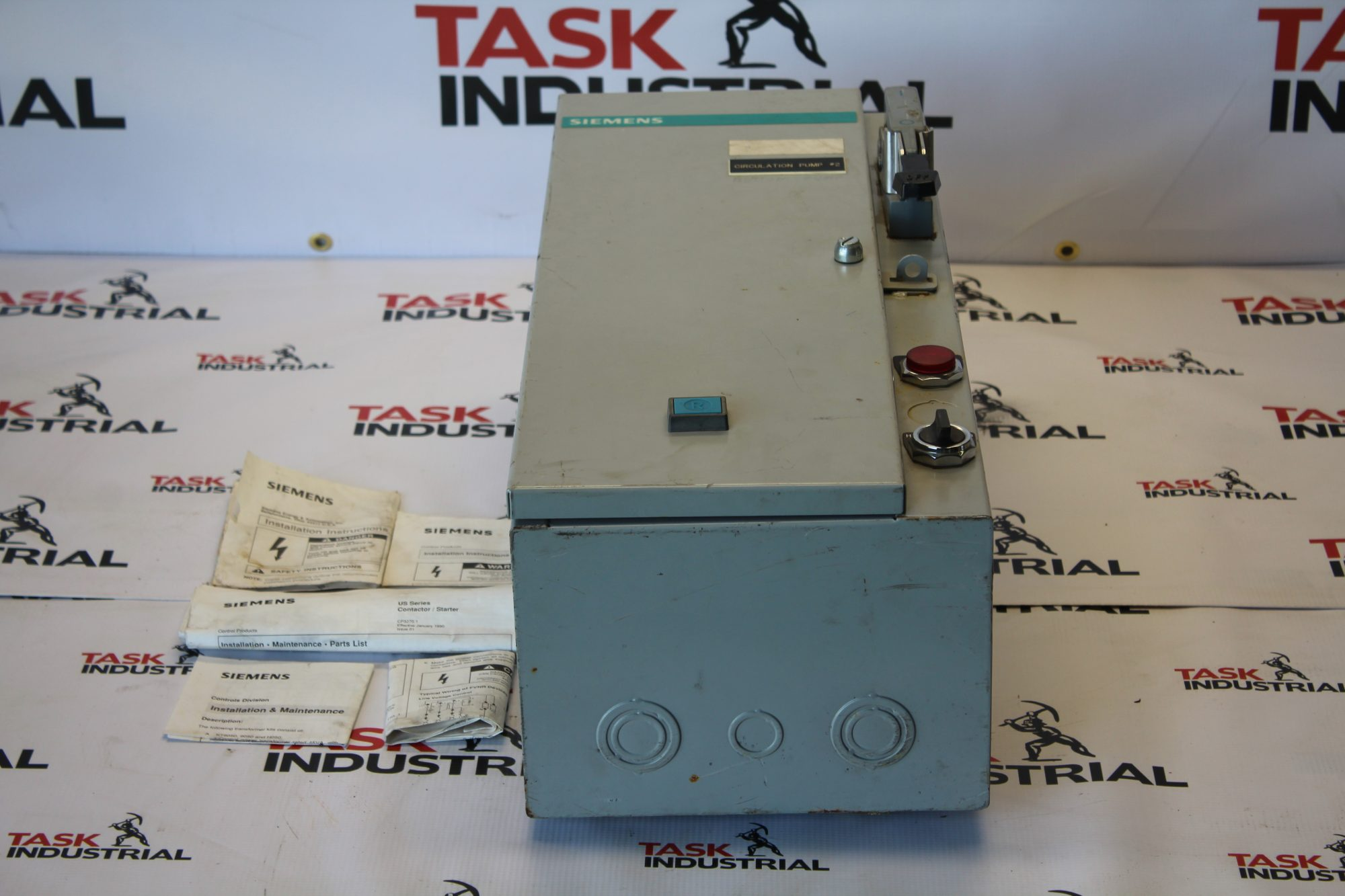 Siemens Cat. No SCF B10 NEMA Size 0 Motor Starter
