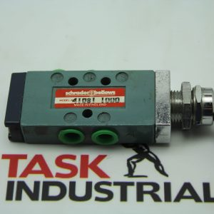 Schrader Bellows Model No. 41081 1000 Directair Pipe Ported Toggle Valve