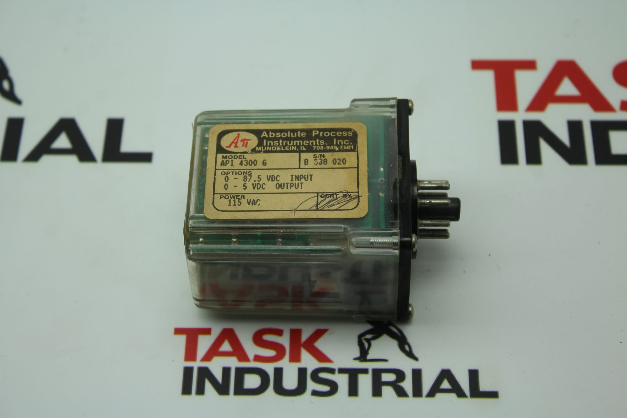Absolute Process API 4300 G Relay Transmitter