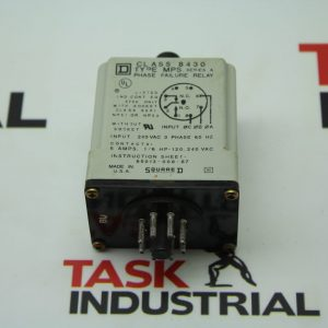 Square D 8430 Type MPS Series A Phase Failure Relay