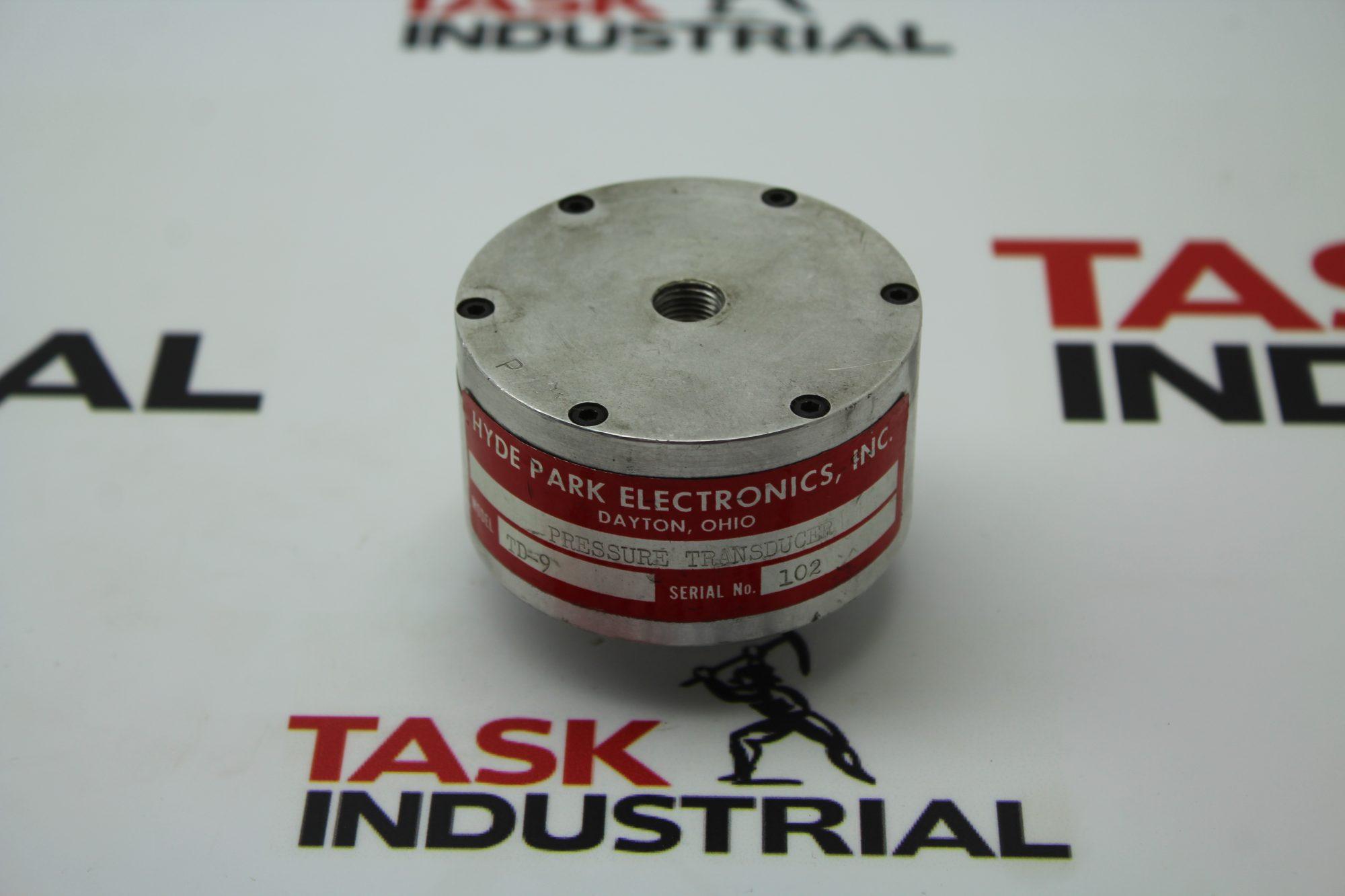 Hyde Park Model TD-9 Pressure Transducer