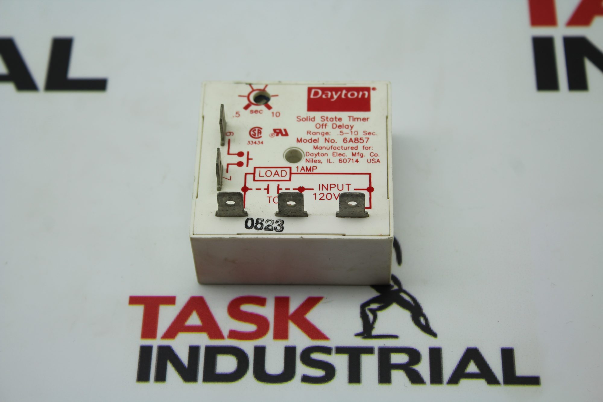Dayton Solid State Timer Off Delay Model No. 6A857