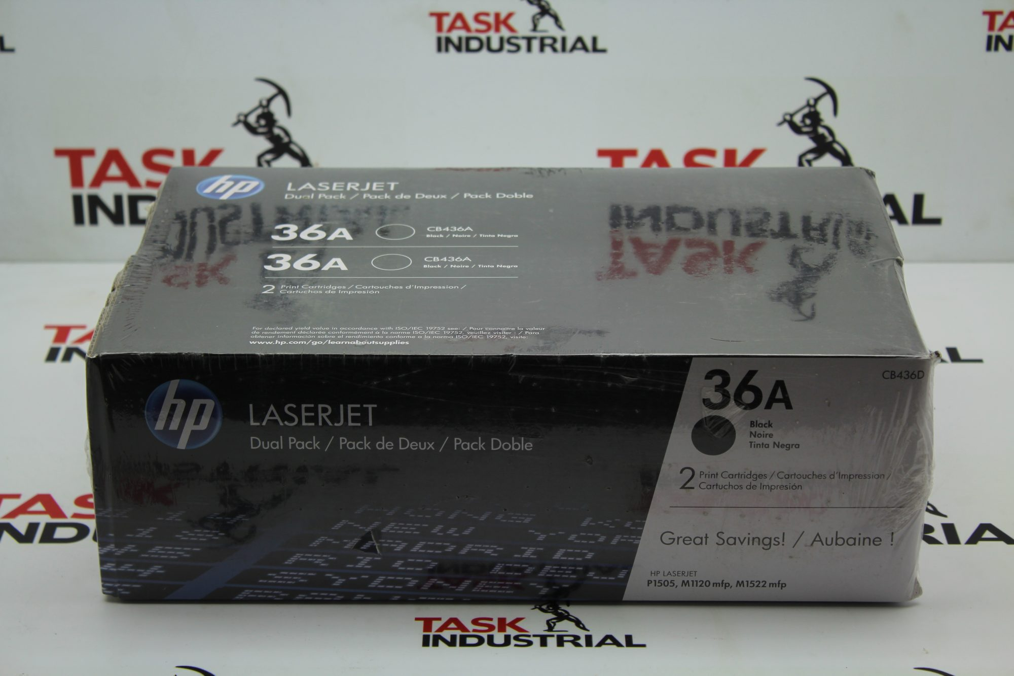 HP Laserjet 36a Dual Pack Black Ink