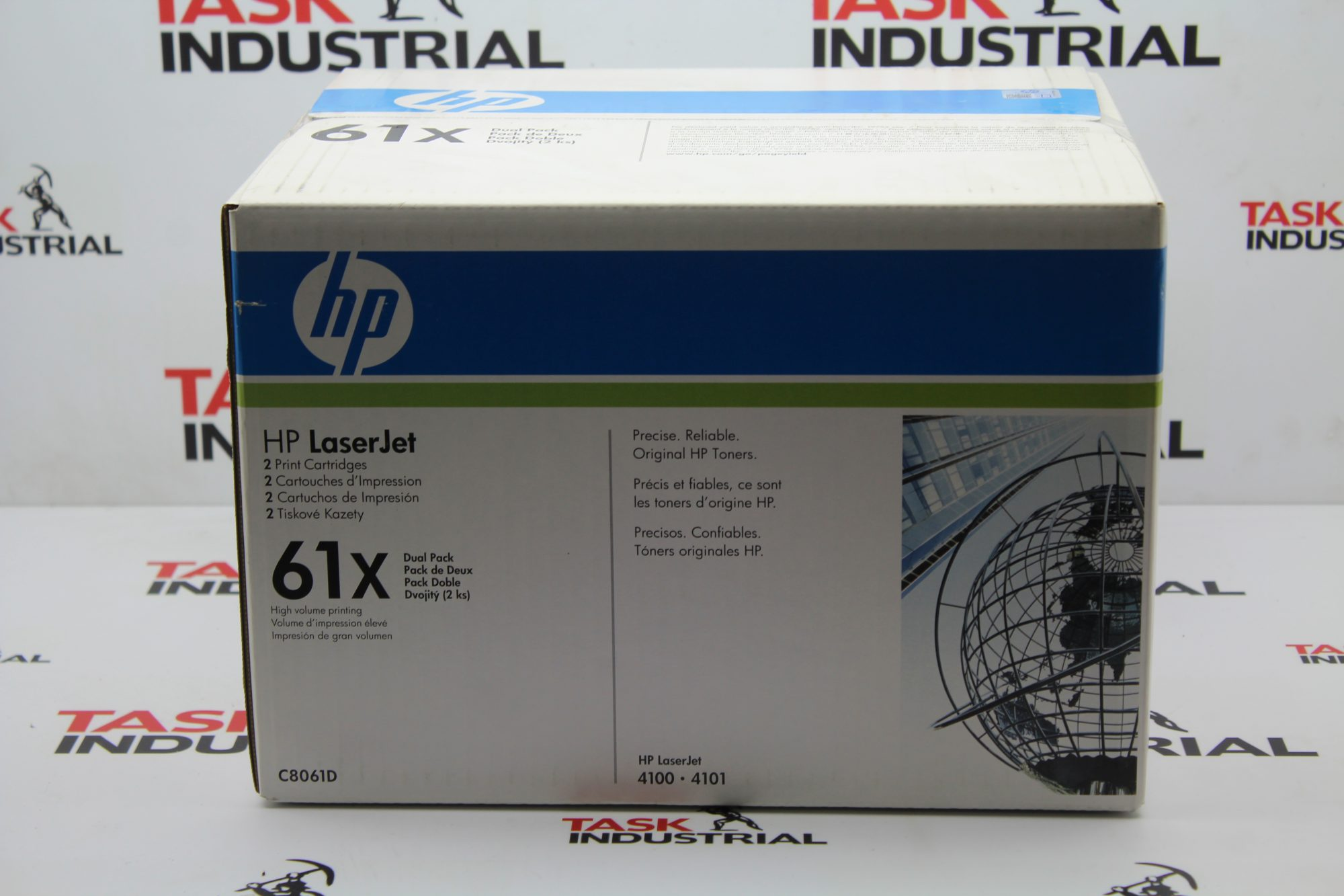 HP Laserjet 61x 2 Print Cartridge Dual Pack