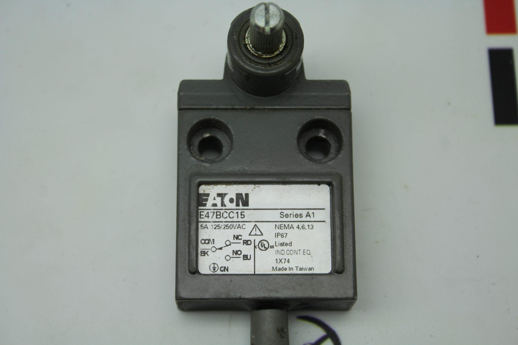 Eaton E47BCC15 Series A1 Limit Switch