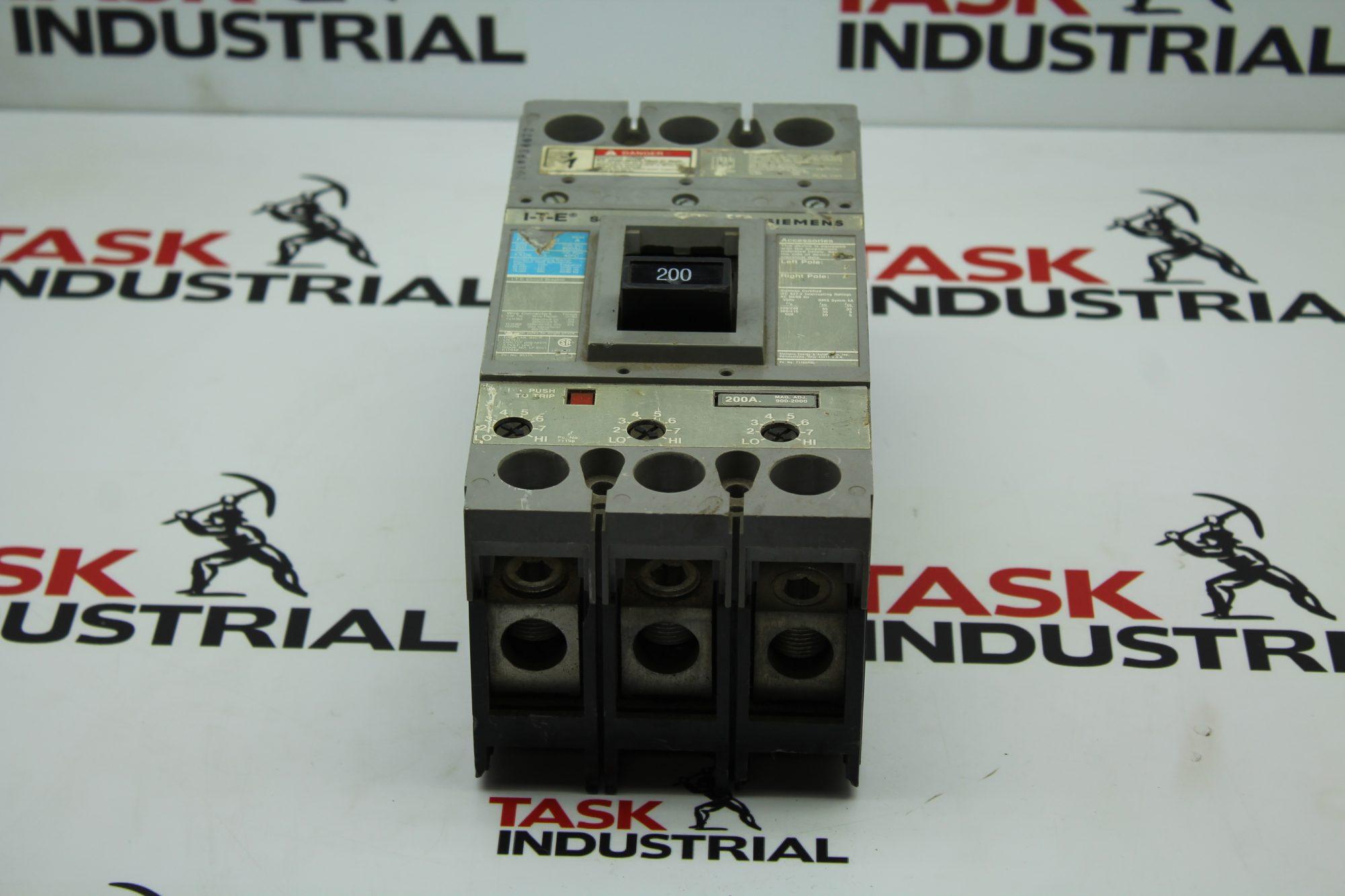 Siemens I-T-E 200Amp Circuit Breaker Series A