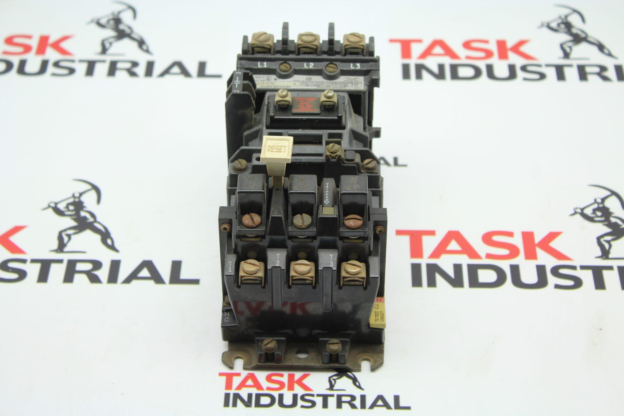 Allen-Bradley 509-AOD 1HP, Size 0 Starter