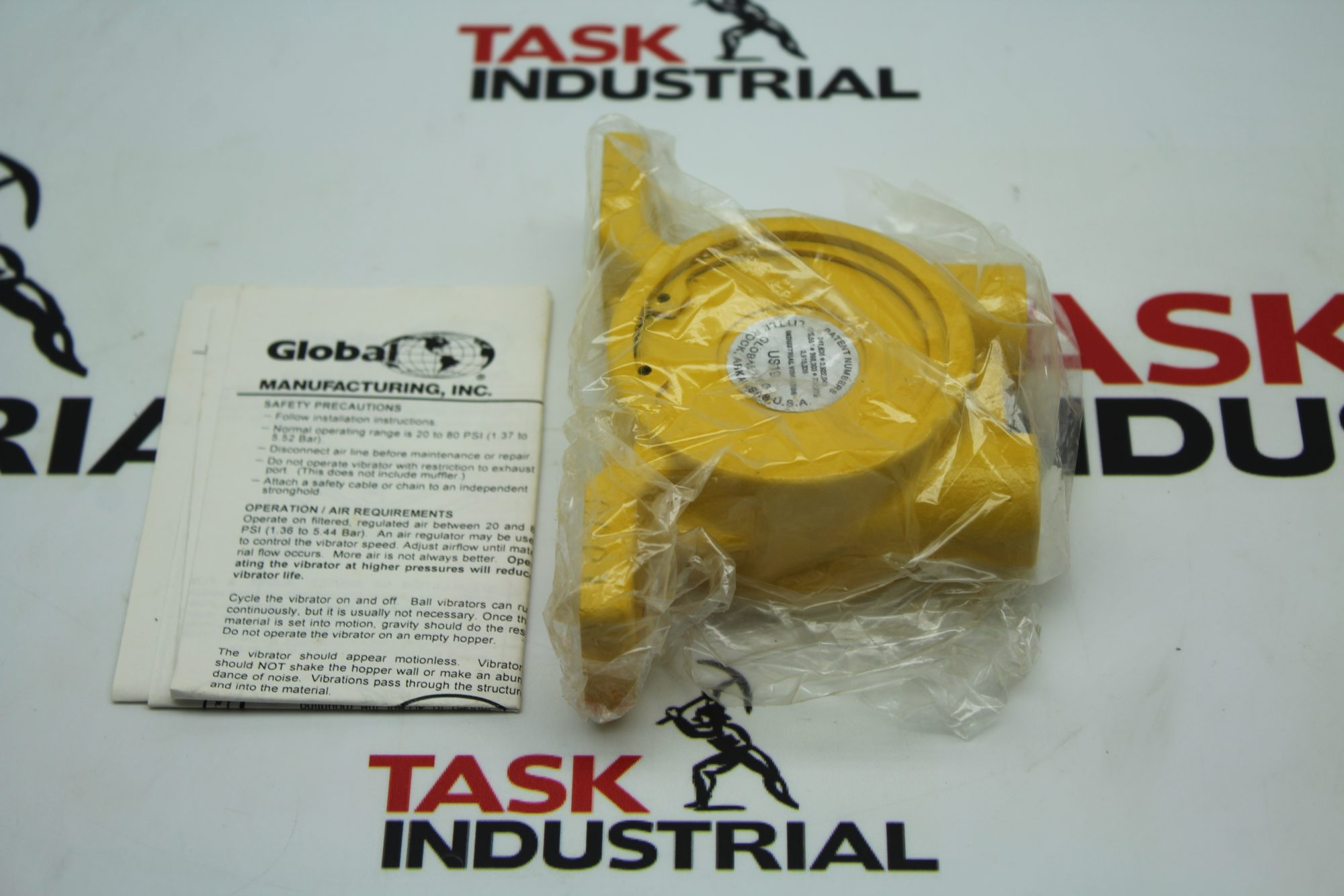 Global Industrial Ball Vibrator Model: US-19