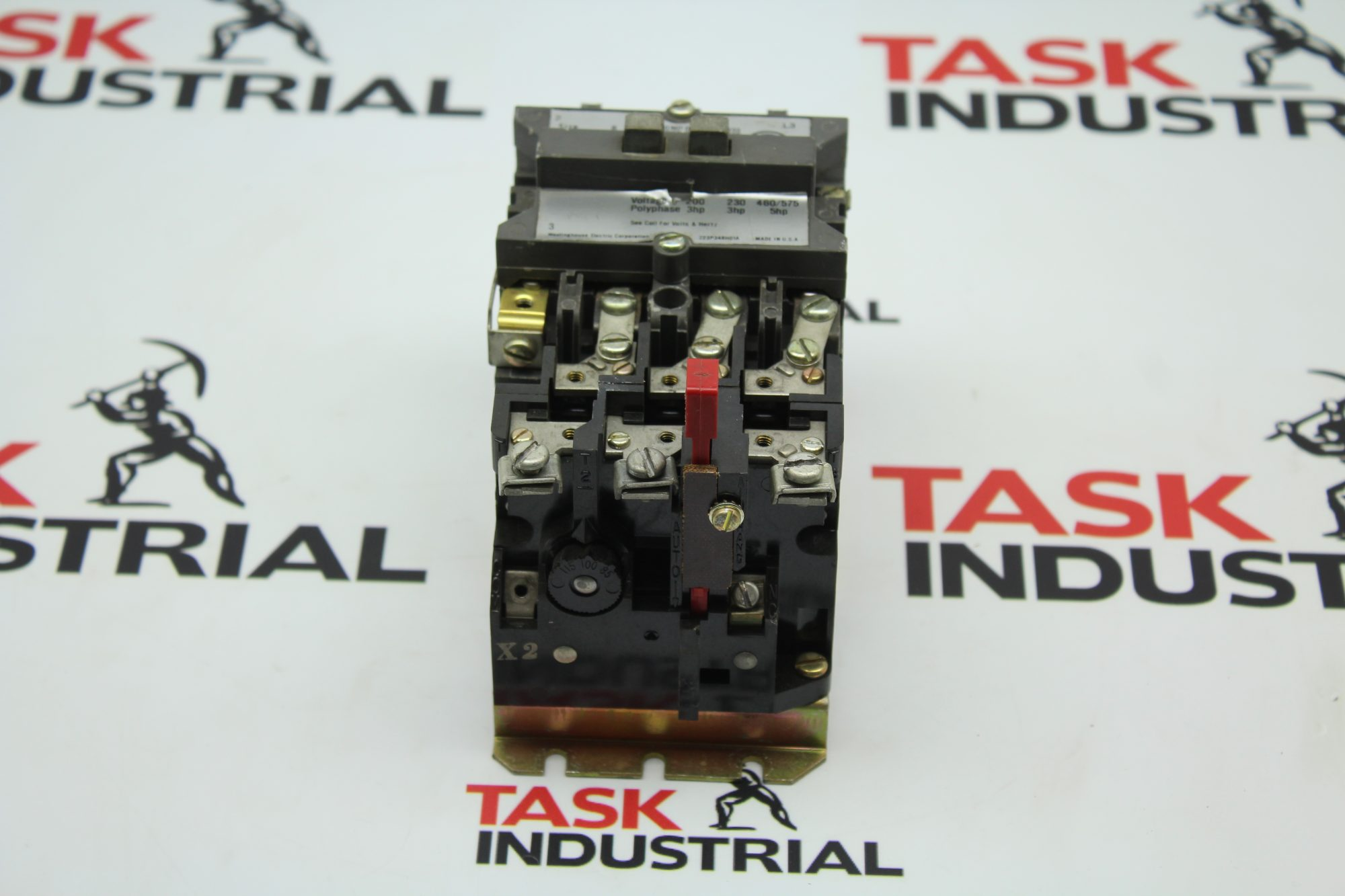 Westinghouse Size 2 CAT No. A200M0CAC Motor Control Starter