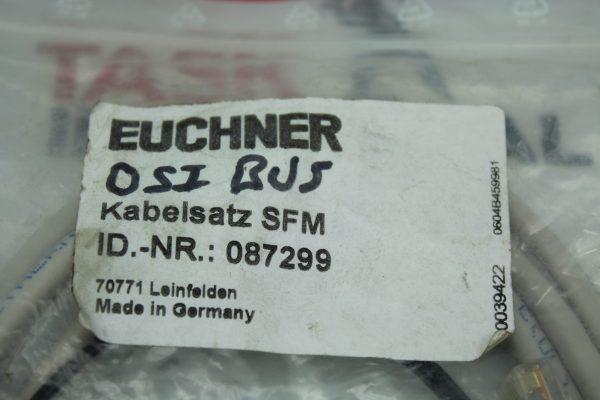 Euchner Kabelsatz SFM OSI BUS ID.-NR.: 087299
