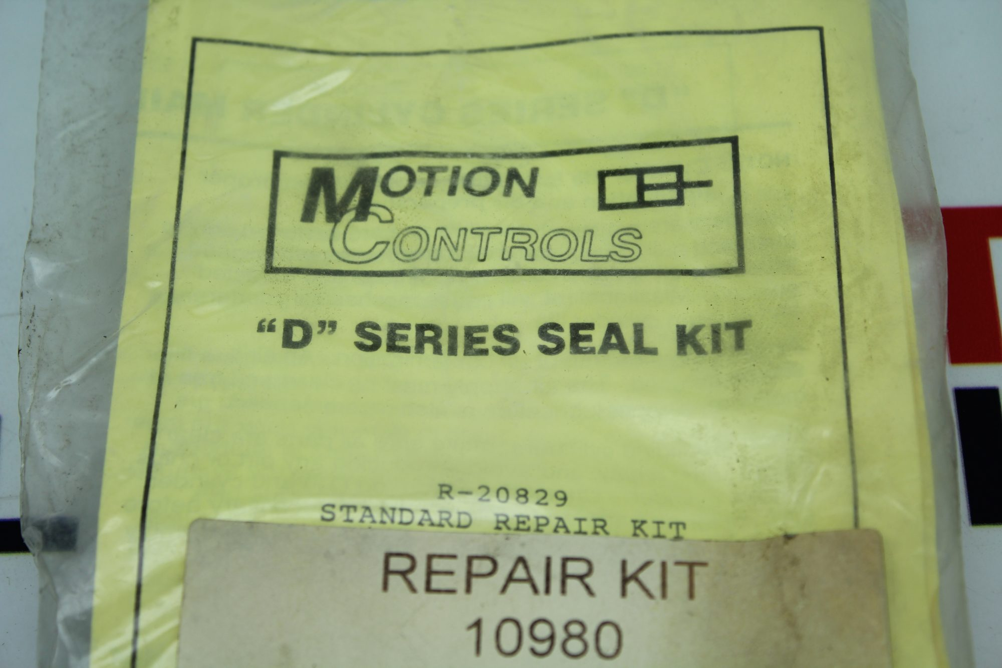 Motion Controls D Series Seal Kit 10980