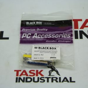 Black Box PC Assessories EMI/RFI Shielded Gender Changer DB25, Female to Female