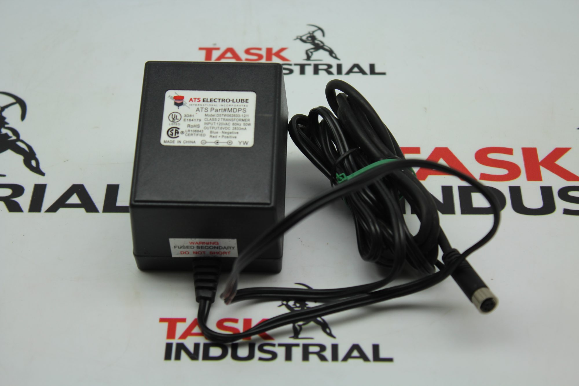 ATS Electro-Lube Model: D57W062833-12/1 Transformer MDPS Power Supply