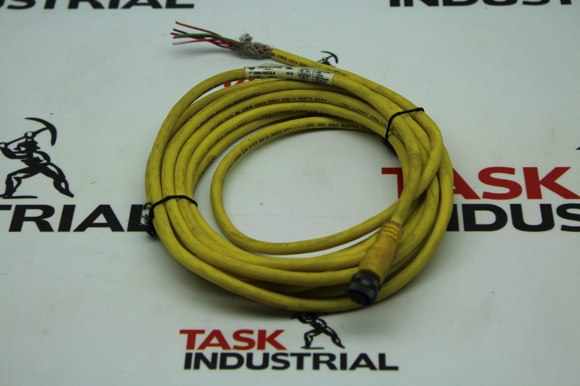 Allen-Bradley CAT 889R-F6ECA-5 Series B Cable