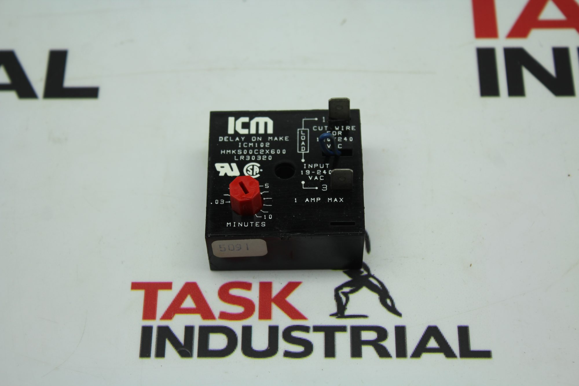 ICM 4E233 .03-10Mins Time Delay ON Make Relay