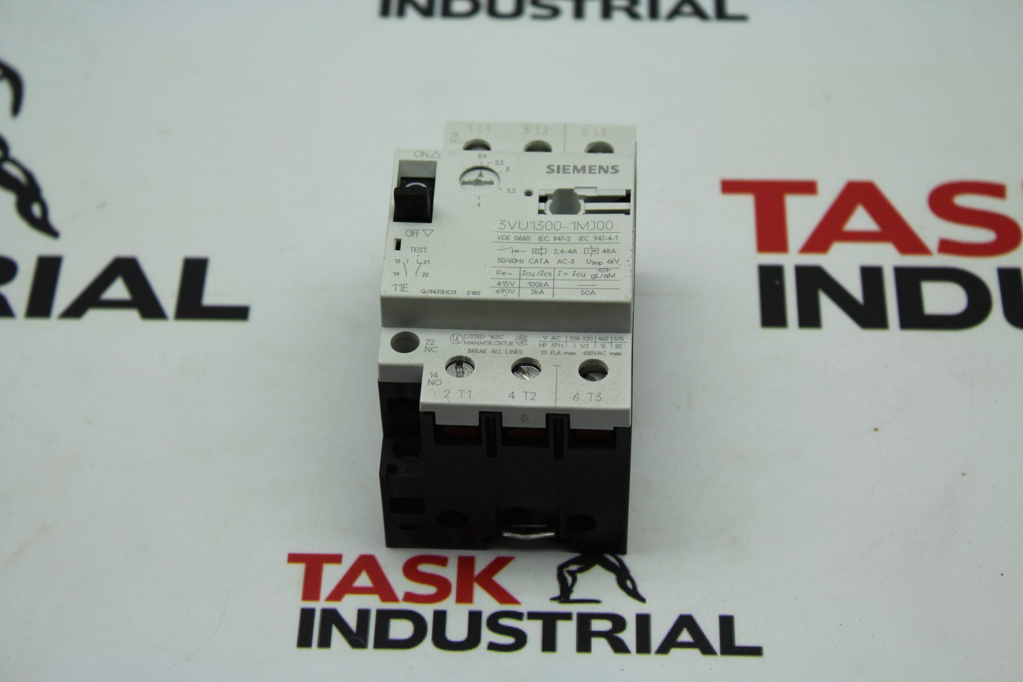 Siemens Circuit Breaker 3VU1300-1MH00